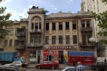 Одесса. Дом № 82 по Пантелеймоновской улице. Фото Валерия Холявко, май, 2009 г.