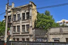 Одесса. Руины дома № 92 по ул. Пантелеймоновской. Фото Яндекс. 2015 г.