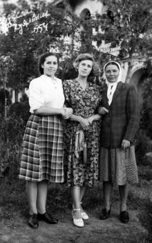 На Куяльнике. Одесса. 1954 г.