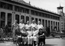 Санаторий «Молдова». Одесса. 1960 г.