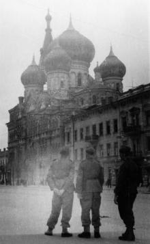 Одесса. Свято-Пантелеймоновский монастырь. Оккупация, 1941–1944 гг.
