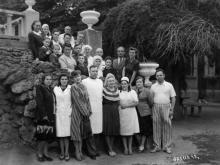 В санатории ВВС, Одесса, 1949 г.