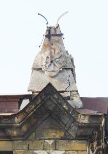 Фрагмент здания РТО. Март, 2015 г.