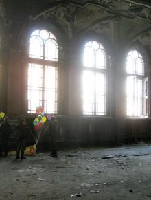 Интерьер здания РТО. Фото В. Баля. 2008 г.