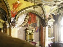 Фрагмент оформления зала в доме бывшего Русского технического общества. Фото В. Баля. 2008 г.