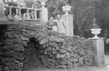 В «военном» санатории. Одесса, сентябрь, 1951 г.