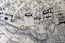 Территория будущего сквера на плане города Одессы. 1894 г.