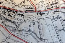Софиевская площадь на плане города Одессы. 1919 г.