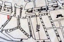 Сенная площадь на плане Одессы. 1911–13 гг.