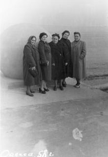 Одесса. Возле шара на Ланжероне. 1958 г.