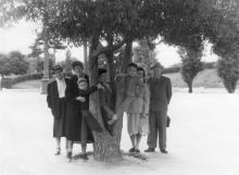 Одесса. В парке Шевченко. Сентябрь, 1959 г.