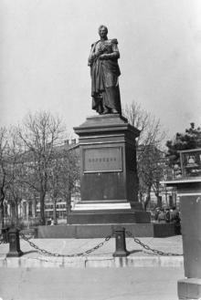 Одесса. Памятник Воронцову. 1950-е гг.