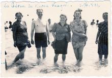 В Одессе на море. 09 августа 1943 г.