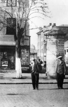 Одесса. Ул. Лассаля, 27. Фотостудия И.Г. Рыжака. 1930-е гг.