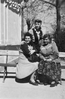 Одесса. Дом отдыха № 13. 1951 г.