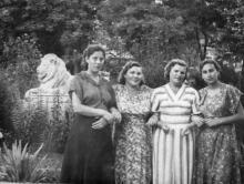Одесса. Сквер им. Мечникова. 1950-е гг.