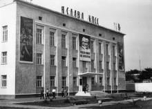 Белгород-Днестровский. На ул. Ленина. Фото Подберезского. 1967 г.