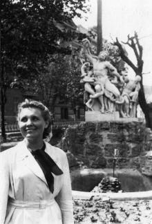 Скульптура «Лаокоон». Одесса, 1950-е гг.