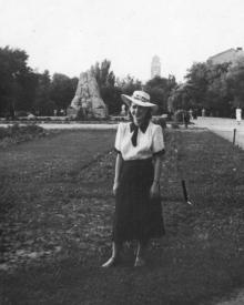 В сквере им. 9 января. Одесса. 1950-е гг.