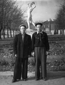 Одесса. В парке им. Ильича. 1950-е гг.