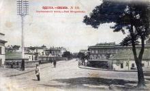 Ул. Греческая, Строгановский мост, открытка, 1902 г.