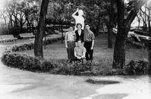 Одесса. В Пионерском парке. 1960-е гг.