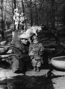 Одесса. В «Детском секторе» ЦПКиО им. Шевченко, 1964 г.