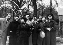 Одесса. В сквере им. Хворостина. 1970-е гг.