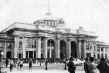 Одесский железнодорожный вокзал. 1964 г.