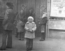Одесса. Перед входом в цирк. 1970-е гг.