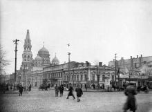 Пантелеймоновская угол Пушкинской, 1917 г.