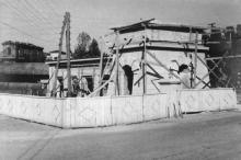 Строительство проходной Одесского порта
