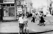 Одесса. Возле кинотеатра «Хроника». Конец 1980-х гг.