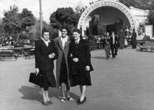 «Ракушка» в ЦПКиО им. Шевченко, 1950-е гг.