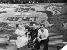 Одесса. Цветочный календарь в ЦПКиО им. Шевченко. 1955 г.