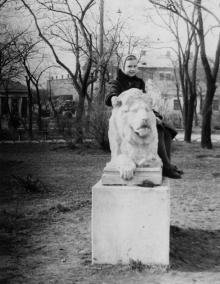 Одесса. В сквере им. Мечникова. Начало 1950-х гг.
