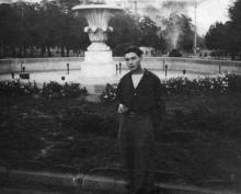 Два фонтана на площади Советской Армии. Одесса. 1956 г.