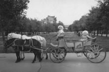 Одесса. Место бывшего собора на площади Советской Армии. 1980-е гг.
