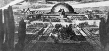 Проект памятника-мавзолея В.И. Ленину в Одессе. II премия на конкурсе 1925 г. Фото в ежегоднике общества архитекторов-художников