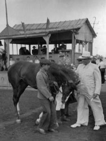 Одесса. На ипподроме. 1950 г.