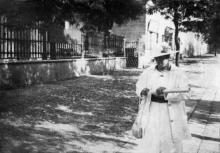 Одесса. На Софиевской улице, около музея. 27 августа 1918 г.