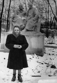 Памятник Ленину и Сталину в Красном сквере
