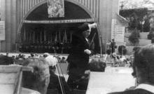 Концерт в Зеленом театре. Одесса, начало 1950-х гг.