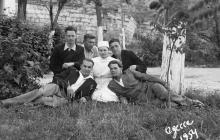 Санаторий на Куяльнике. Одесса. 1954 г.