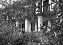 Здание санатория на Куяльнике. Одесса. 1959 г.