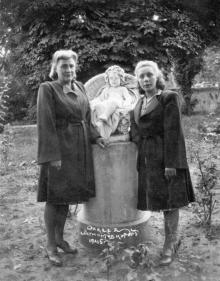 Одесса. Лермонтовский курорт. 1945 г.