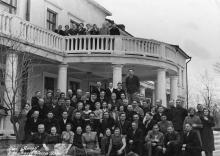 Санаторий «Якорь». Большой Фонтан. Одесса. 1959 г.