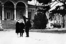 Одесса. В санатории им. Чкалова. 1970-е гг.