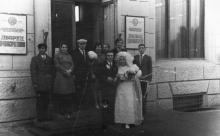 Дворец бракосочетаний на ул. Ленина, 4. Одесса. 1970-е гг.