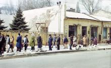 Начало ул. Московской. Одесса, апрель, 1985 г.